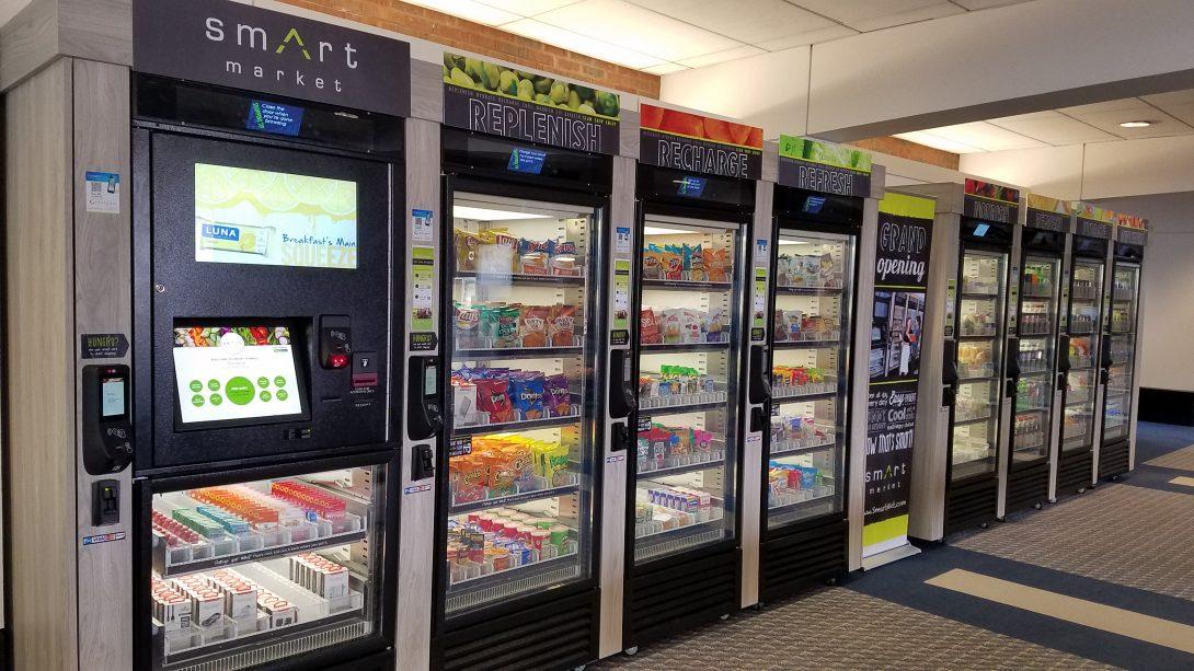 Smart Market Vending Machines